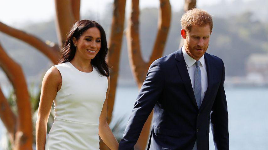 Herzogin Meghan und Prinz Harry in Sydney, 2018