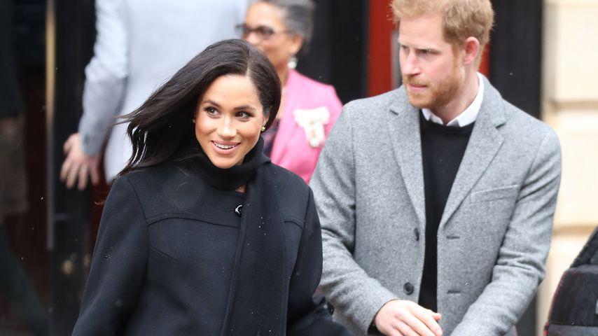 Herzogin Meghan und Prinz Harry in Bristol im Februar 2019