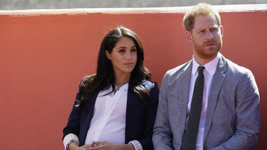 Herzogin Meghan und Prinz Harry im Marokko