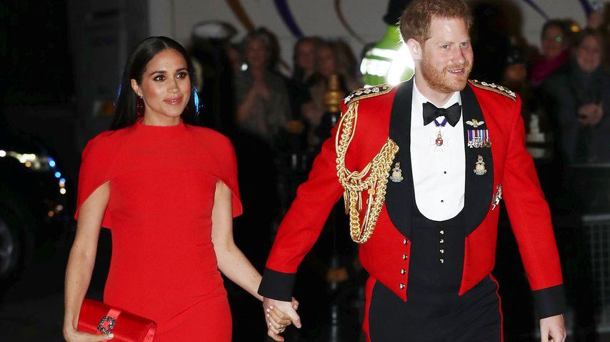 Herzogin Meghan und Prinz Harry beim Mountbatten Music Festival 2020