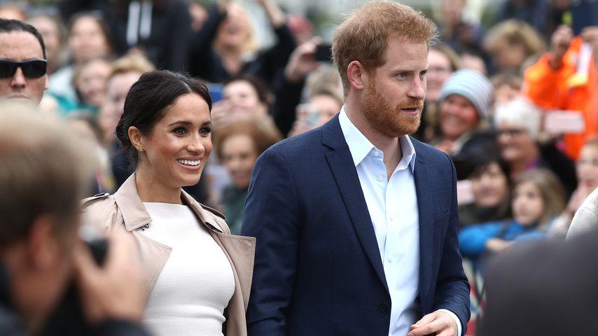 Herzogin Meghan und Prinz Harry in Auckland