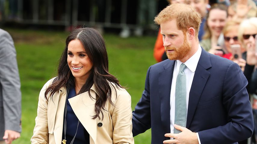 Herzogin Meghan und Prinz Harry in Melbourne