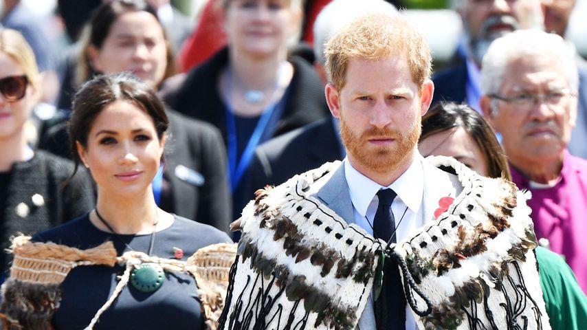 Herzogin Meghan und Prinz Harry in Neuseeland