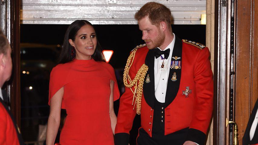 Herzogin Meghan und Prinz Harry in der Royal Albert Hall in London im März 2020