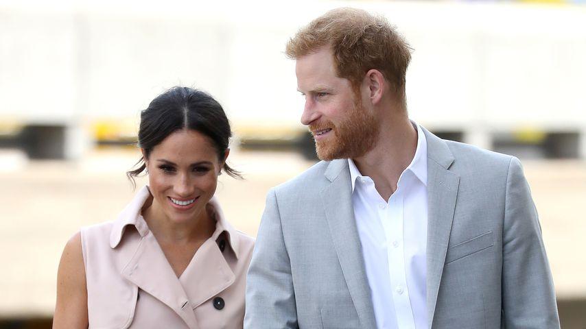 Herzogin Meghan und Prinz Harry, Juli 2018
