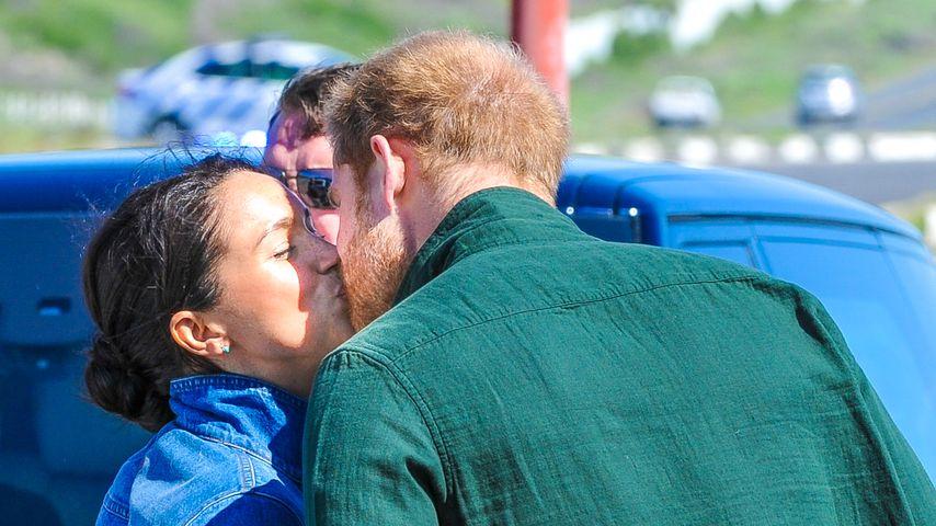Herzogin Meghan und Prinz Harry am Monwabisi Beach in Kapstadt