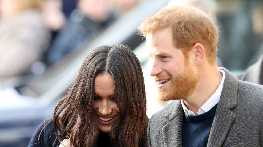 Herzogin Meghan und Prinz Harry im Februar 2018