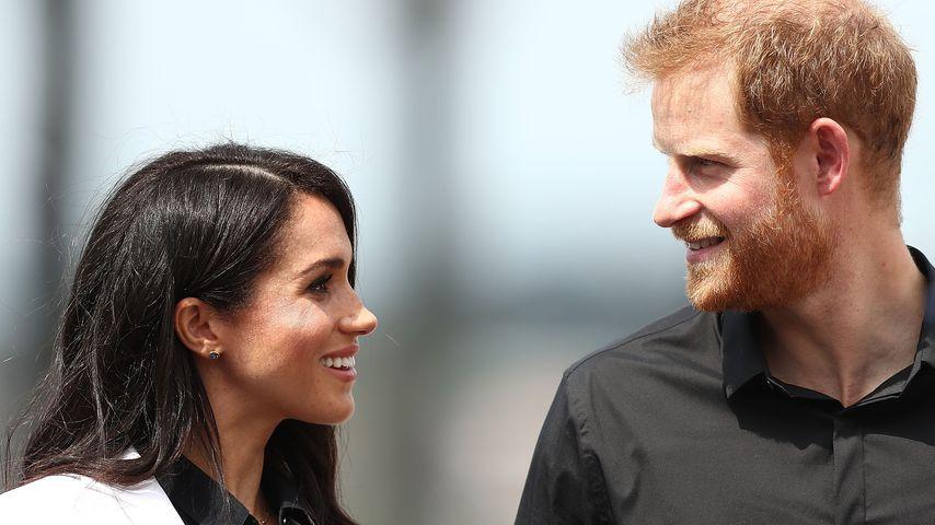 Herzogin Meghan und Prinz Harry im Jahr 2018