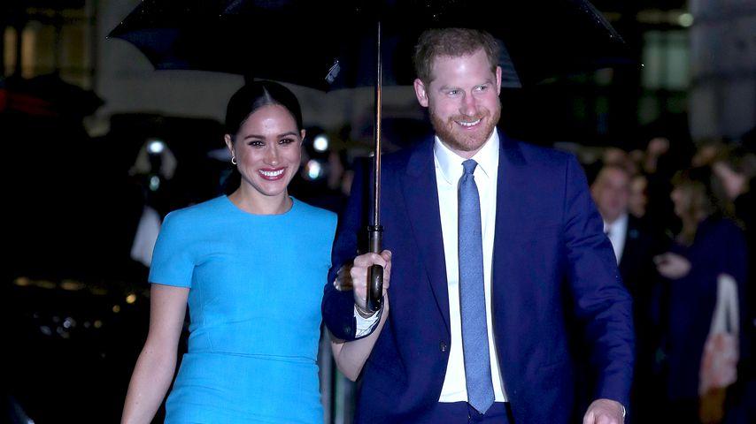 Ehrenamtliche Hilfe: Prinz Harry und Meghan verteilen Essen
