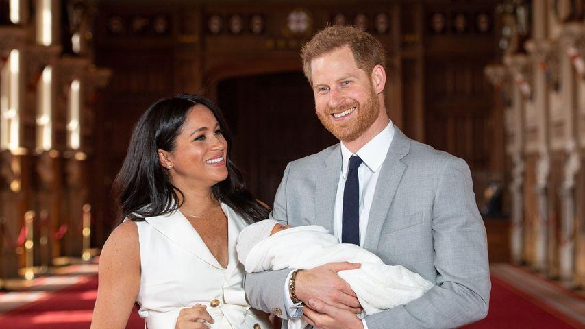 Ende des Jahres: Meghan & Harry wollen mit Baby nach Afrika