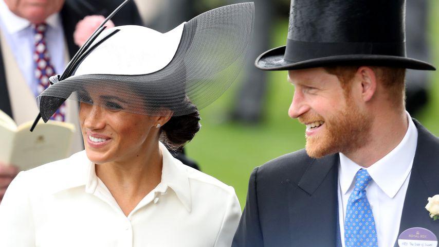 Zum Einmonatigen: Harry & Meghan strahlen beim Ascot Day!