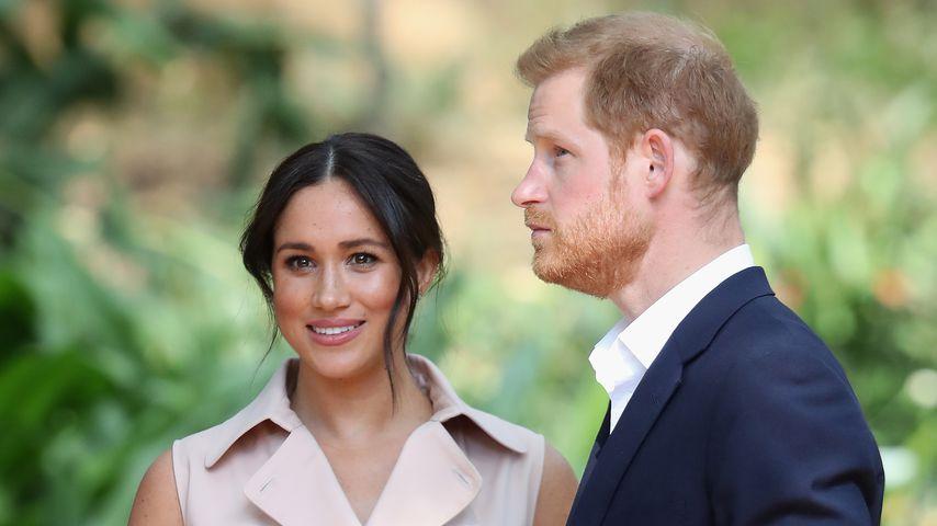 Herzogin Meghan und Prinz Harry in Johannesburg im Oktober 2019