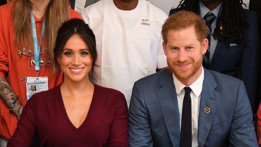 Herzogin Meghan und Prinz Harry auf einem Termin in Windsor