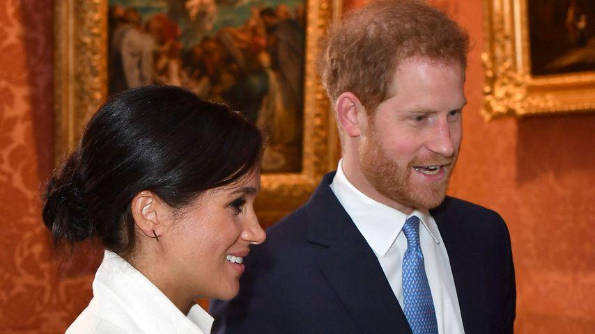 Herzogin Meghan und Prinz Harry im März 2019 in London