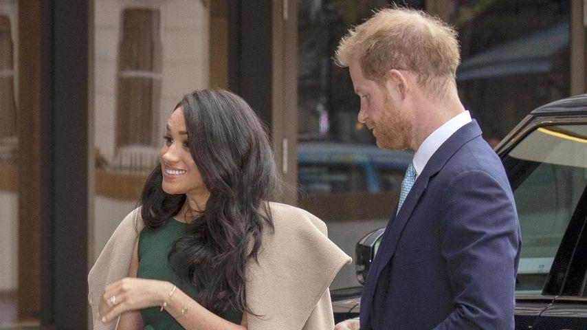 Herzogin Meghan und Prinz Harry in London, 2019