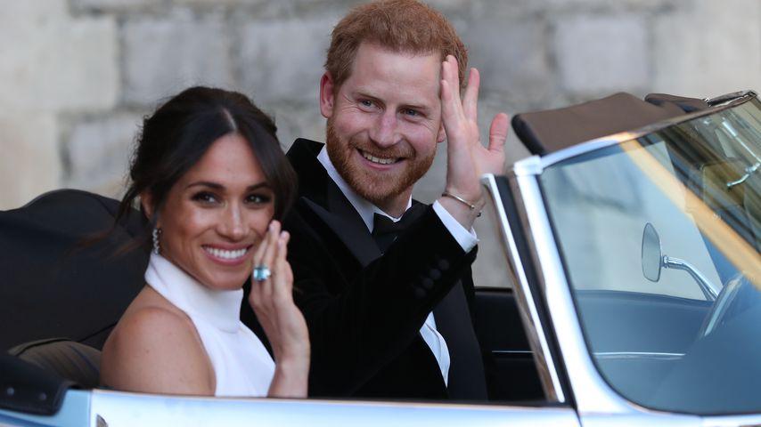 Nach Flitterwochen: Meghan & Harry beim Geburtstag der Queen