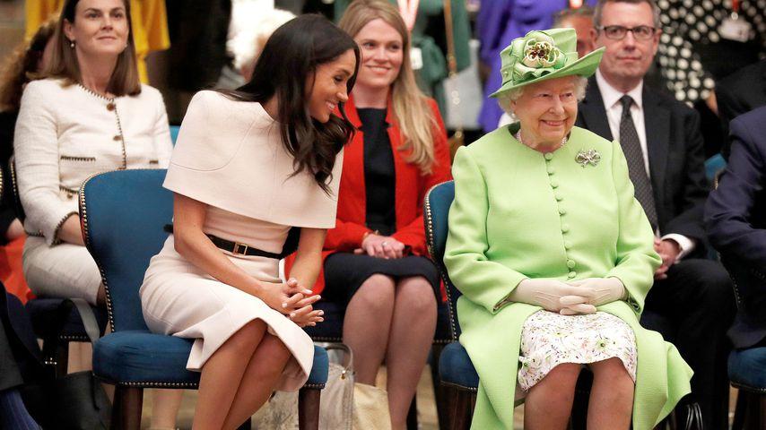 Herzogin Meghan und Queen Elizabeth II.