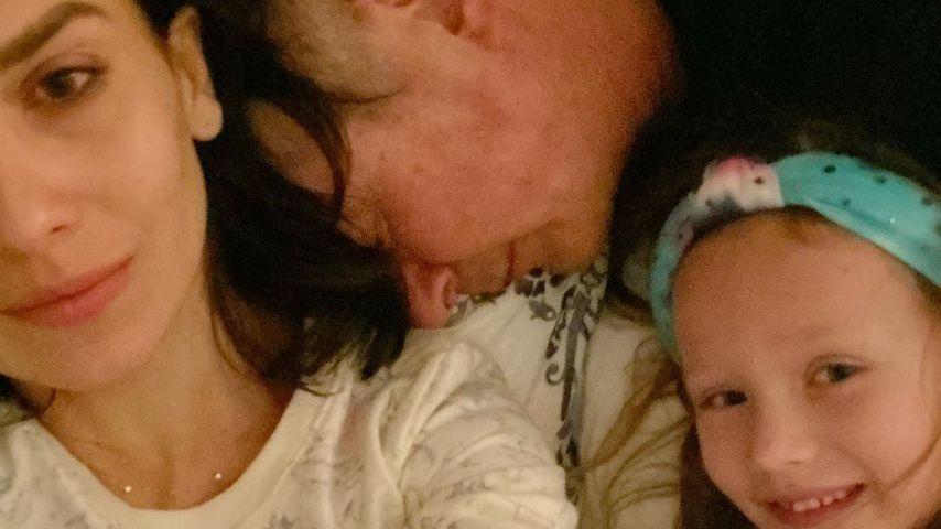 Hilaria und Alec Baldwin mit ihrer Tochter Carmen