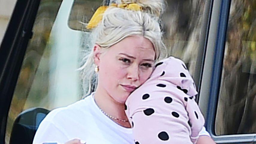 Hilary Duff und Töchterchen Banks