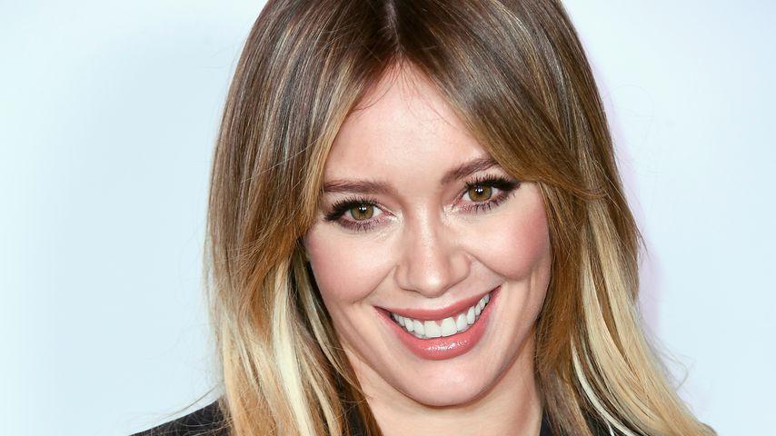 Knutsch-Alarm & Po-Griff: Hilary Duff ist frischverliebt!