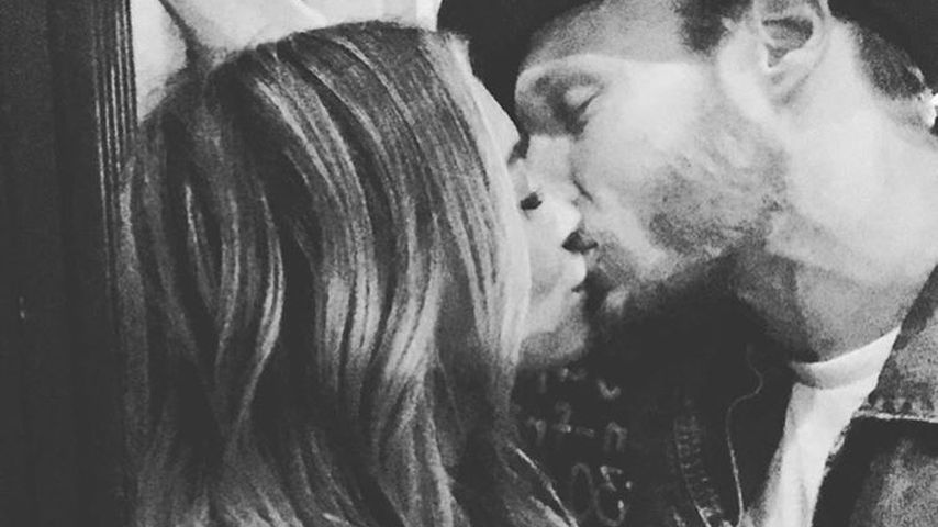 1. privates Pic: Hier küsst Hilary Duff ihren neuen Lover!