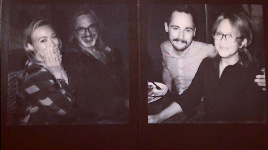 Hilary Duff, Robert Carradine, Jake Thomas und Hallie Tod, Oktober 2019