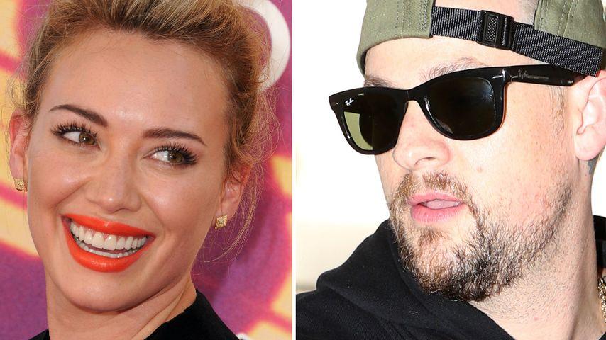 Hilary Duff und Joel Madden