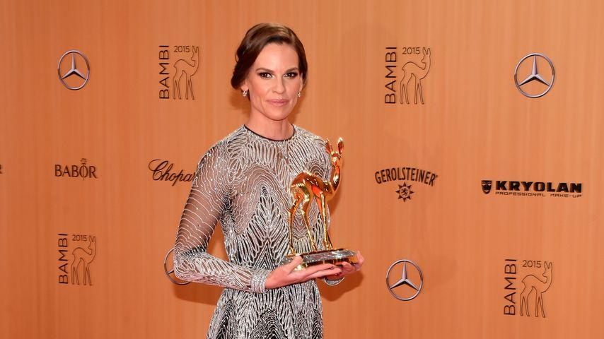 Hilary Swank bei der Bambi-Verleihung
