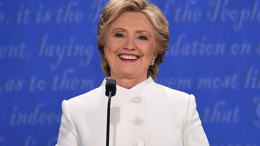 Hillary Clinton bei Wahldebatte in Las Vegas