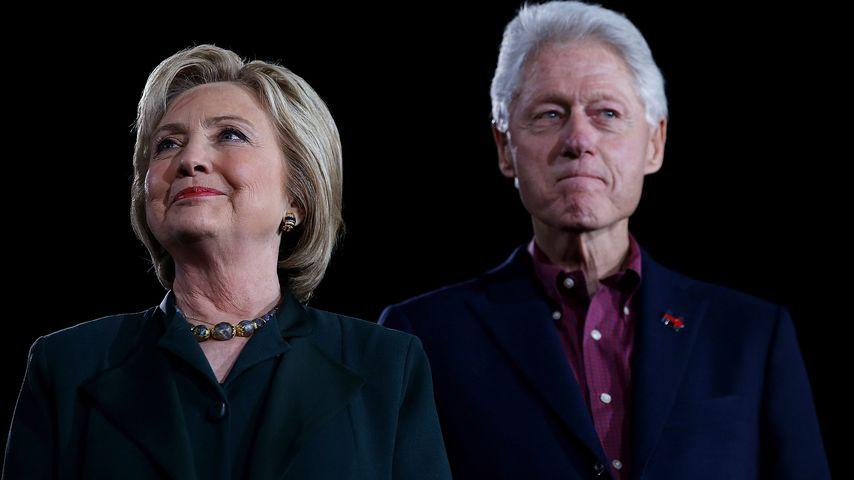 Hillary Clinton und Bill Clinton im Februar 2016 in Las Vegas
