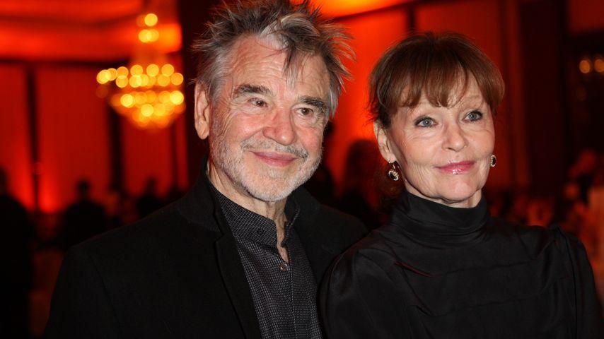 Hilmar Thate mit seiner Ehefrau Angelica Domröse im Jahr 2010
