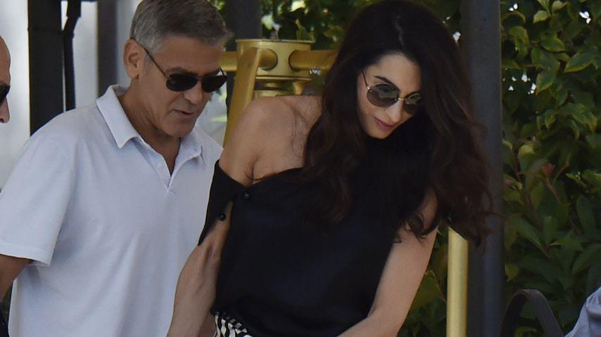 Family-Urlaub in Venedig: Clooneys unterwegs mit den Twins