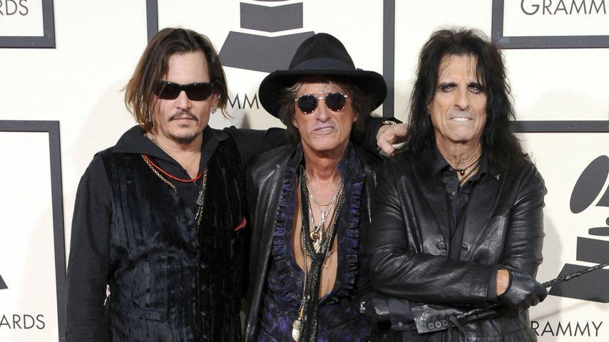 Hollywood Vampires bei den Grammy Awards 2016