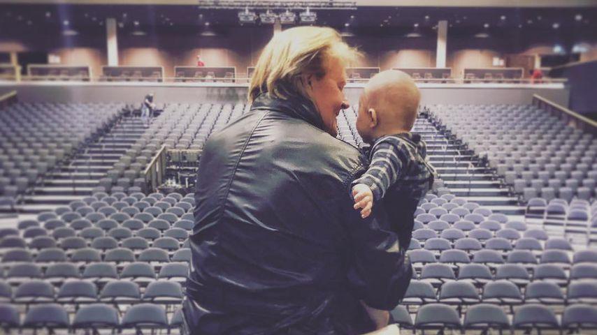Howard Carpendale und sein Enkelsohn