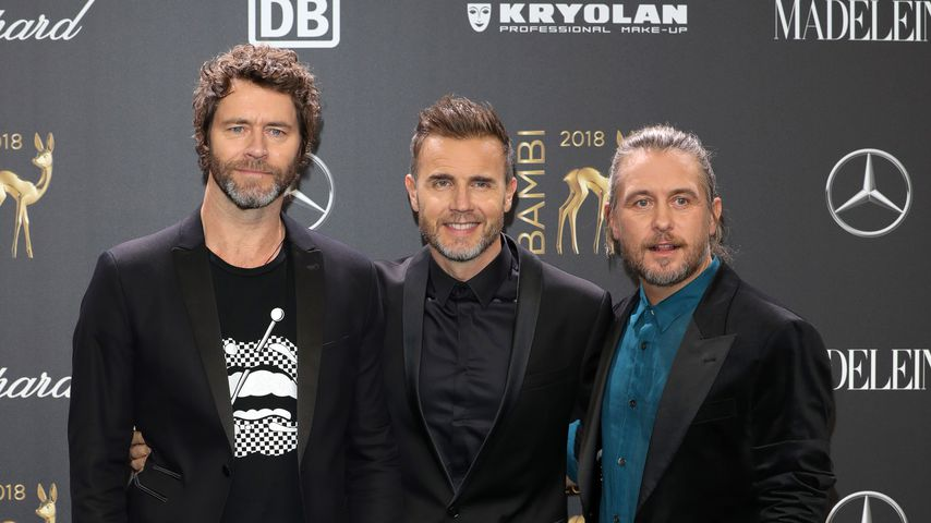 Howard Donald, Gary Barlow und Mark Owen bei den Bambi Awards 2018