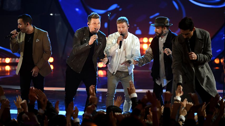 Die Backstreet Boys bei dem iHeart Radio Music Award 2019 in L.A.