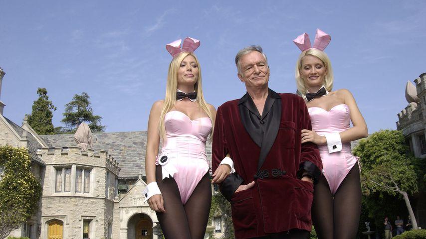 Hugh Hefner und seine Playboy Bunnies