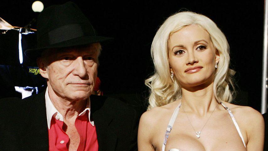 Hugh Hefner und Holly Madison