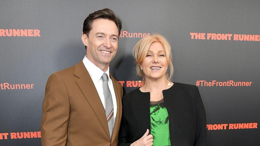 Hugh Jackman und Deborra-Lee Furness im Oktober 2018