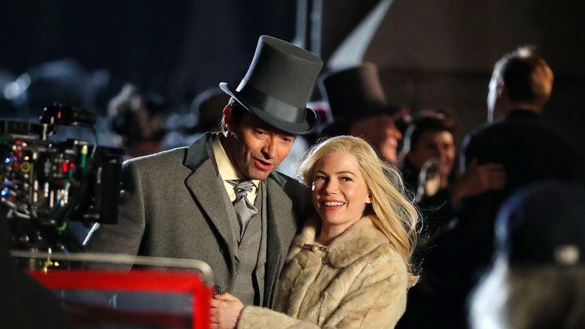 """Hugh Jackman und Michelle Williams in """"Greatest Showman"""""""