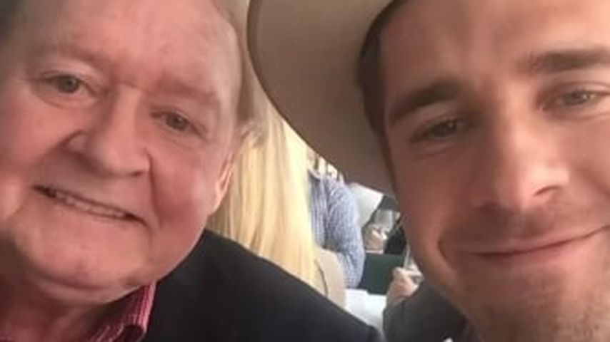 Hugh Sheridan und sein Vater Denis
