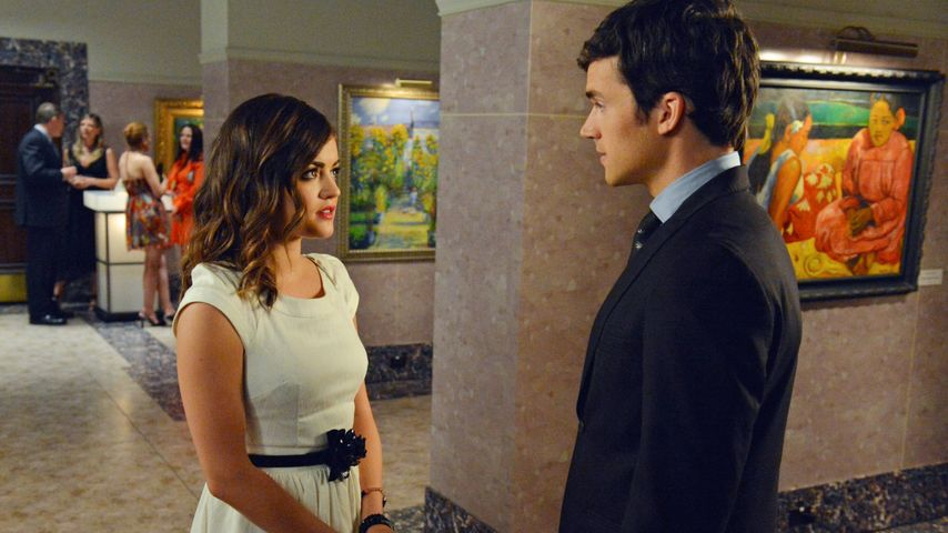 "Lucy Hale und Ian Harding in ""Pretty Litte Liars"""