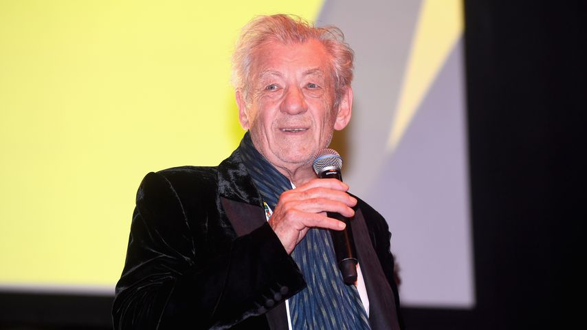 Ian McKellen 2017 in London