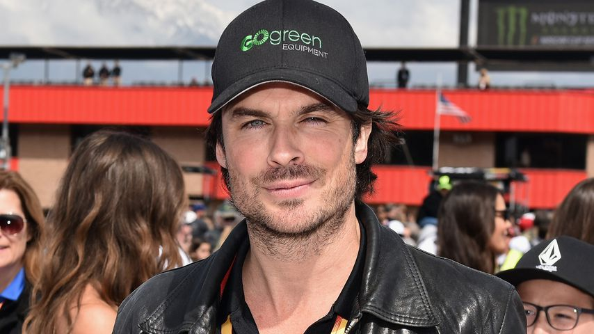 Ian Somerhalder in Fontana, California