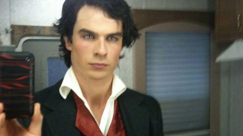 Erstmalig: Ian Somerhalder postet Selfie als Vampir Damon