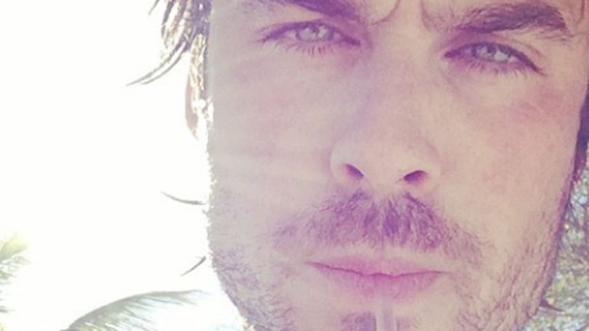 Selfie-König: Die 20 besten Ian Somerhalder-Fotos