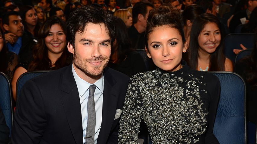 Ian Somerhalder und Nina Dobrev in Los Angeles