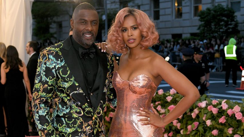 Idris Elba und Sabrina Dhowre im Mai 2019 in New York