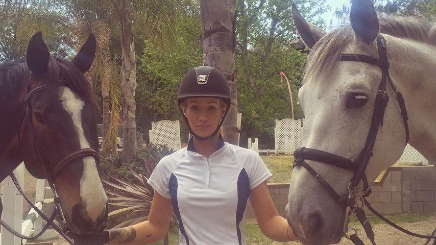 Iggy Azalea mit ihren Pferden