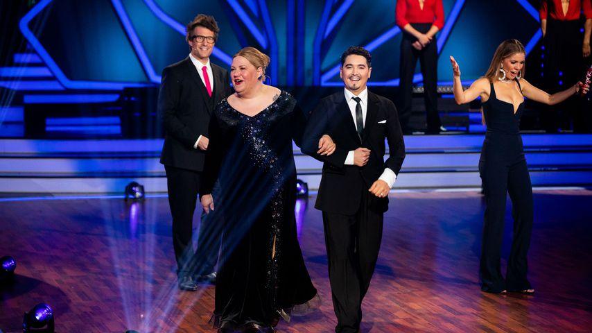 """Ilka Bessin und Erich Klann bei """"Let's Dance"""""""